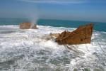 تصوير يک شناور در حال غرق شدن