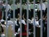 خود سوزی دختر جوان در اعتراض به حکم زندانش به جرم تلاش برای ورود به استادیوم ورزشی